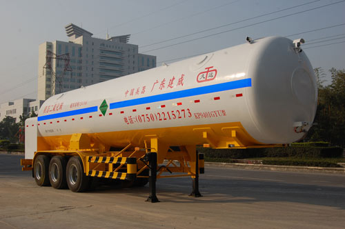二氧化碳运输半挂车图片