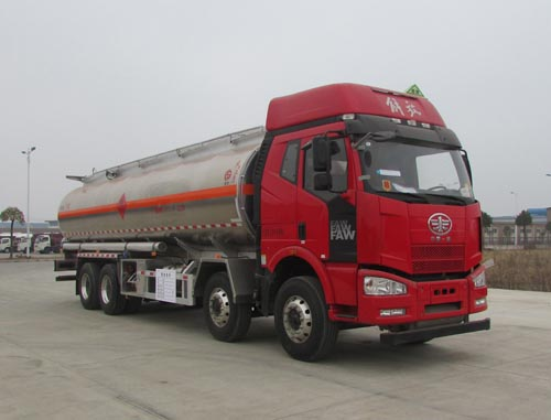 解放J6四桥20吨铝合金运油车