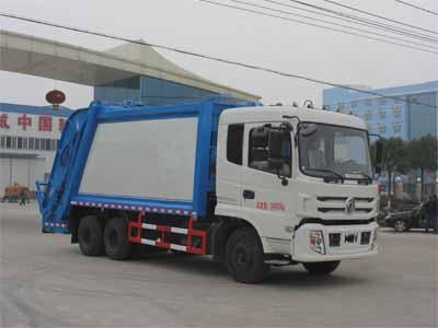 东风CLW5251ZYSE5压缩式垃圾车