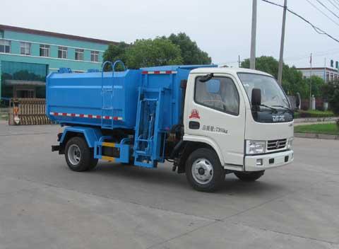 东风牌自装卸式垃圾车灵活应变开垃圾车一月多少钱