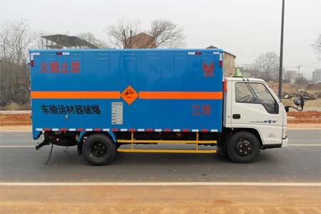 藍牌江鈴民用炸藥爆破器材運輸車圖片