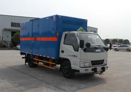 JMT5060XRQXGA2易燃气体厢式运输车