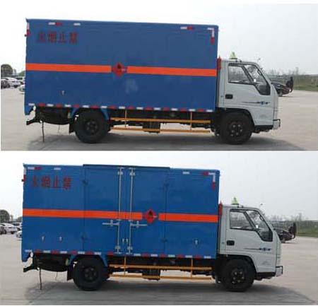JMT5060XRQXGA2易燃氣體廂式運輸車圖片