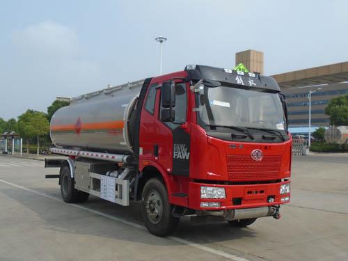 解放13吨铝合金运油车