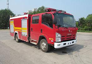 4噸慶鈴五十鈴水罐消防車
