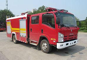 4噸慶鈴五十鈴泡沫消防車