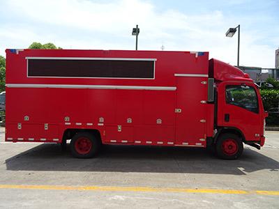 互动式宣传消防车