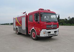 6噸國六東風天錦泡沫消防車|6方泡沫消防車