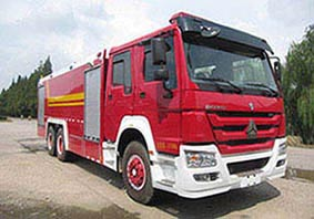 16噸國六重汽豪沃水罐消防車|16方水罐消防車