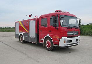 6噸國六東風天錦水罐消防車|7方水罐消防車