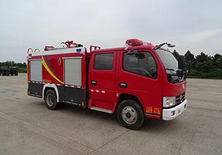 3噸國六東風水罐消防車|3方水罐消防車