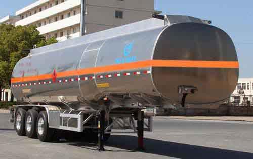 安徽开乐专用车辆AKL9408GYYA型铝合金运油半挂车