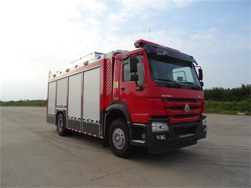 供氣消防車