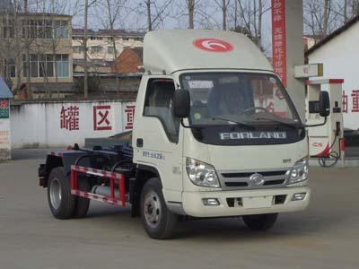 福田小卡4吨车厢可卸式垃圾车