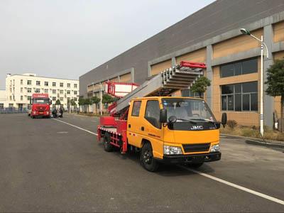 28米高空云梯车 搬家车 上料车配置报价