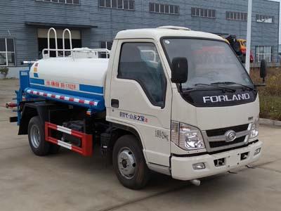 福田小卡藍牌(3方)綠化噴灑車