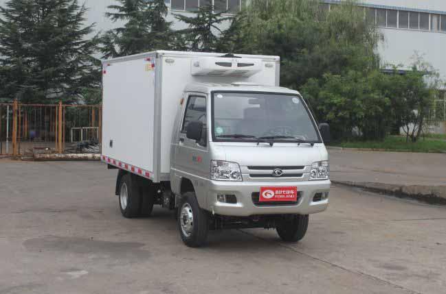 论不同类型冷藏车出售价格及配置对比用电的冷藏车制冷机组图片