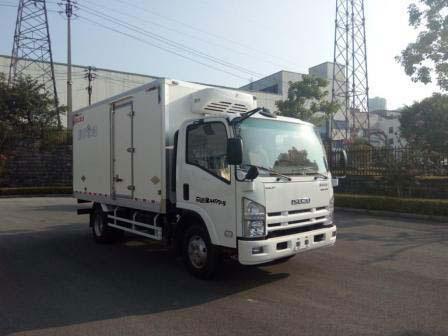 庆铃五十铃KV600宽体5米冷藏车