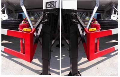 CLW9340GYQ液化气体运输半挂车图片