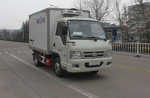 福田牌冷藏车日常使用应该如何操作?冷藏车制冷机怎么制冷?图片