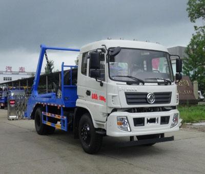 东风153_10吨摆臂式垃圾车图片