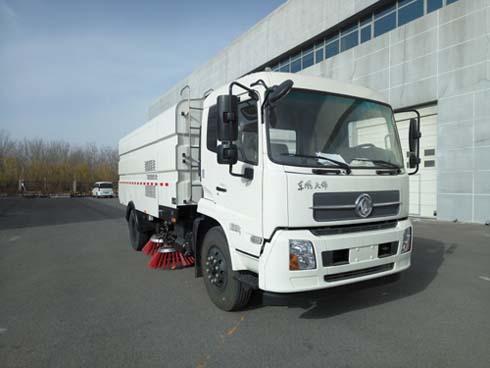 北京市清洁机械厂BQJ5180TSLE5型东风天锦扫路车