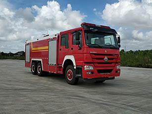 12噸國六重汽豪沃泡沫消防車|12方重汽豪沃泡沫消防車