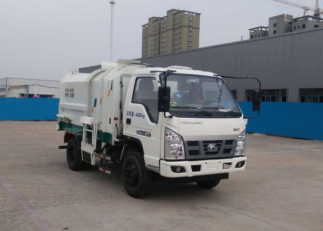 福田牌自装卸式垃圾车价格低质量好