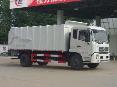 东风天锦15吨对接式垃圾车