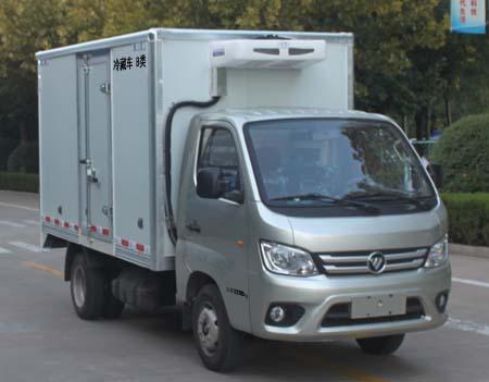 福田祥菱M1后雙輪冷藏車