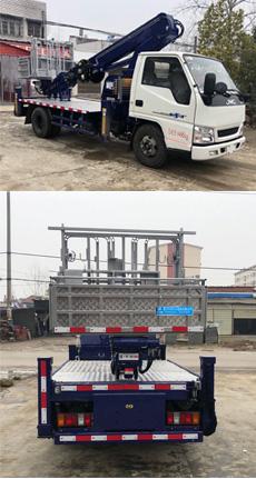 蓝牌江铃16米直臂式高空作业车
