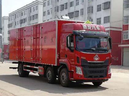 DLQ5252XRYLZ易燃液体厢式运输车