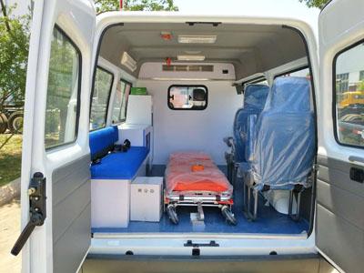程力威CLW5040XSCJ5伤残运送车图片