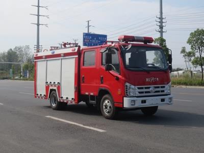 福田时代3吨水罐消防车