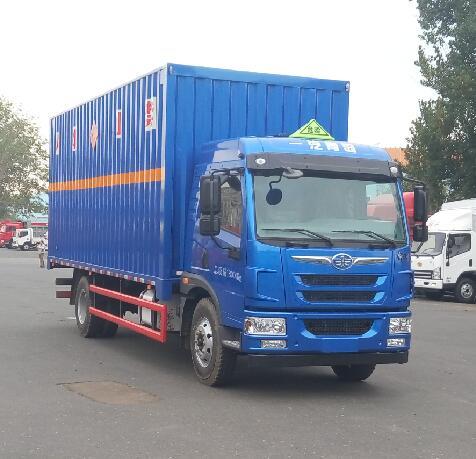 CA5182XRYPK2L5E5A80易燃液体厢式车