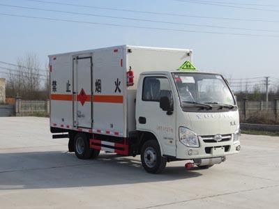跃进小福星S系易燃气体厢式运输车