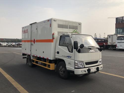 JMT5040XRQXGA2易燃气体厢式运输车