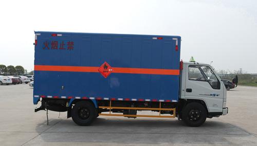 江鈴氣體氣瓶廂式運輸車圖片