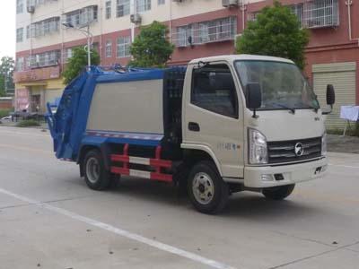凱馬4噸藍牌壓縮式垃圾車