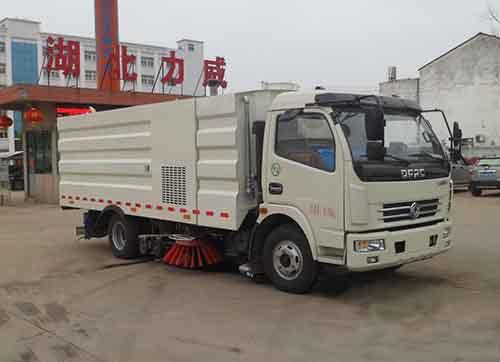 国六东风凯普特170马力9方洗扫车