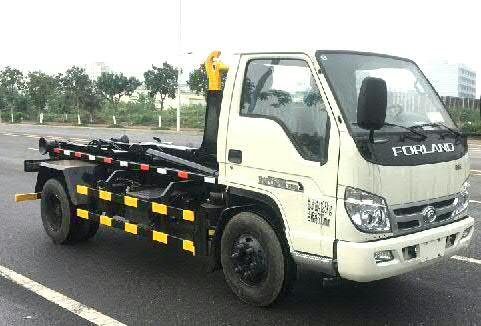 福田3方车厢可卸式垃圾车的优势