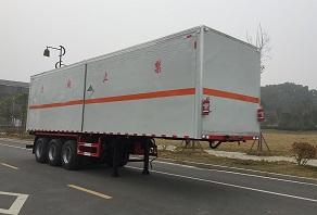12.6米杂项危险品厢式半挂运输车