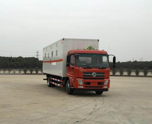 DFH5160XRQBX2JV易燃气体厢式运输车
