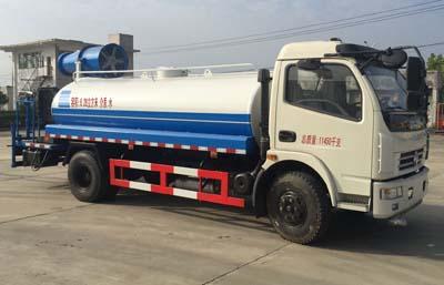 东风D7多利卡8吨洒水车40米抑尘车