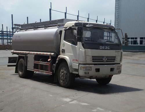 10吨东风多利卡洗井液普货油罐车