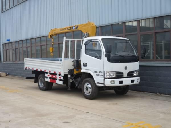 YZR5040JSQE东风福瑞卡2吨随车吊,随车起重运输车。