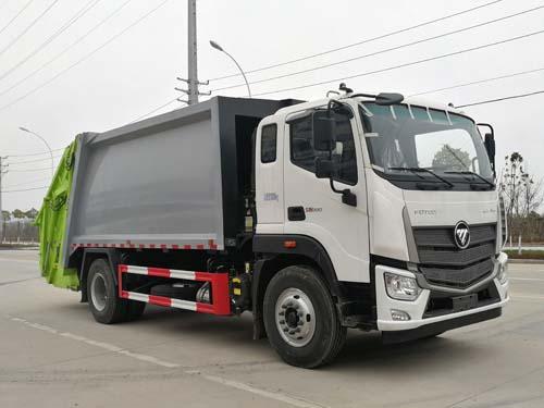 福田10方压缩式垃圾车 国六垃圾车厂家