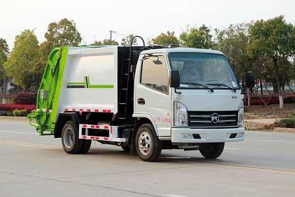 国六凯马CLW5040ZYSKL6压缩式垃圾车