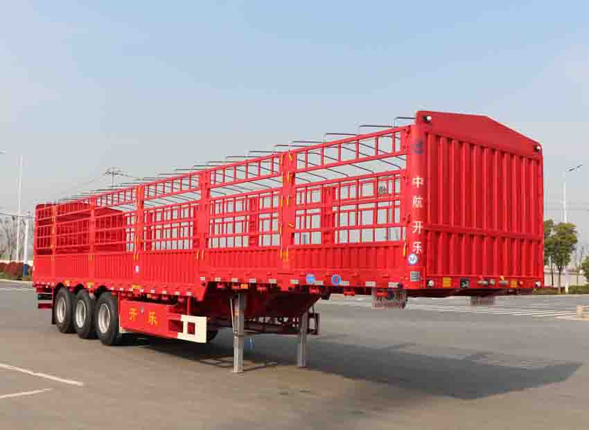 安徽开乐专用车辆AKL9400CCYA02型仓栅式运输半挂车