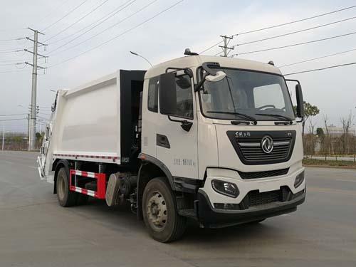 东风天锦国六压缩式垃圾车